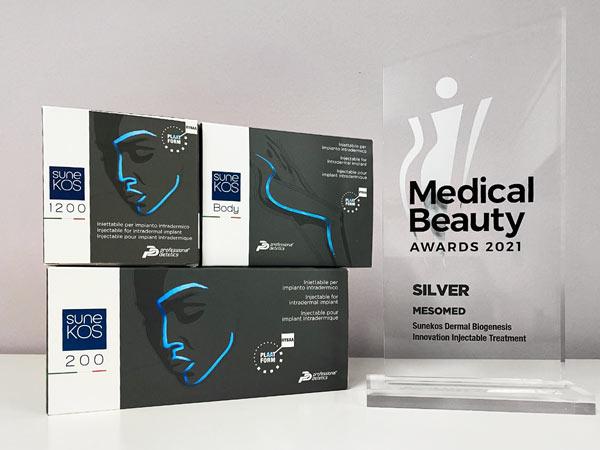 Sunekos won Medical beauty awards 2021